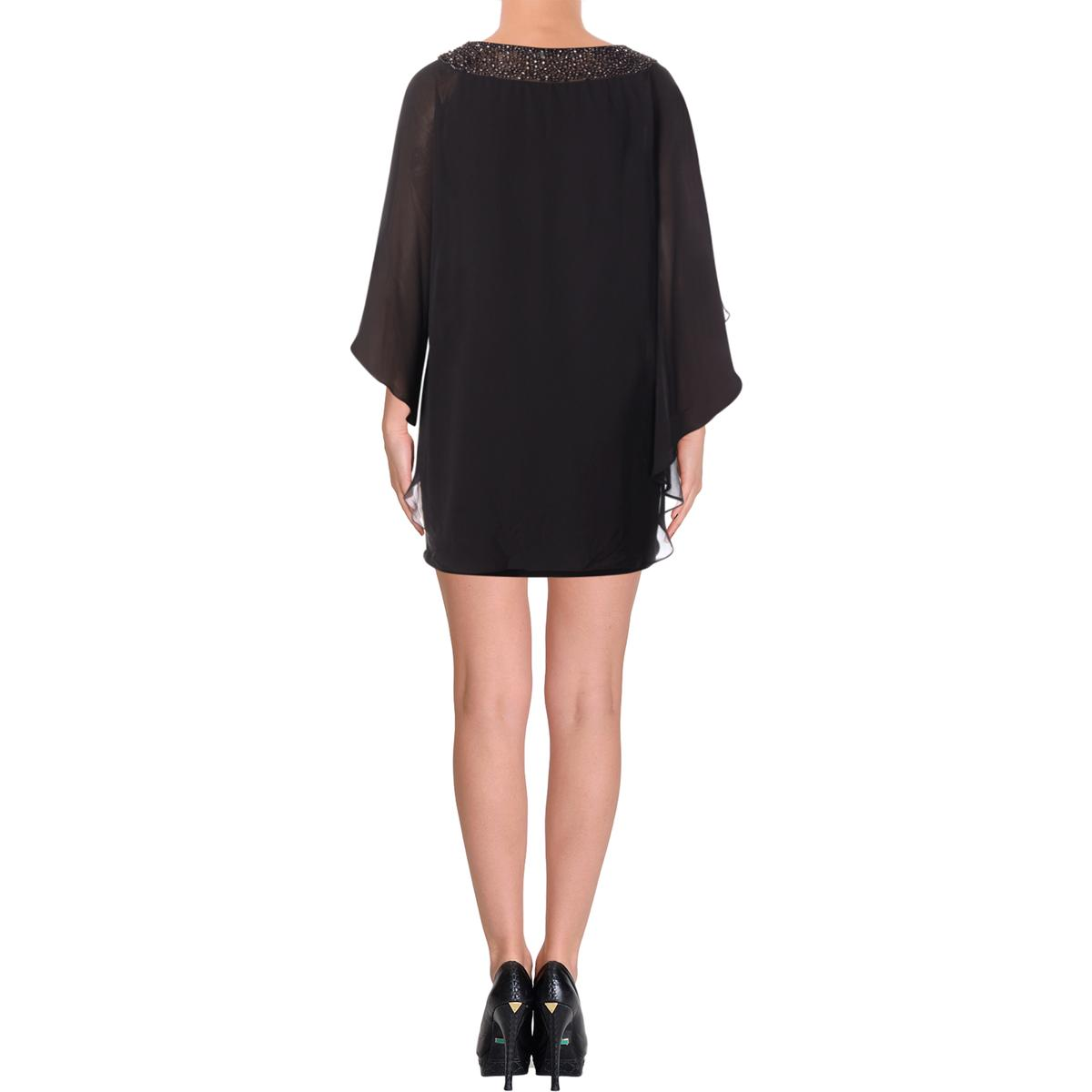 jurk Petites Cape verfraaide 7857 Overlay cocktail Bhfo Womens Xscape zw1xqnBX