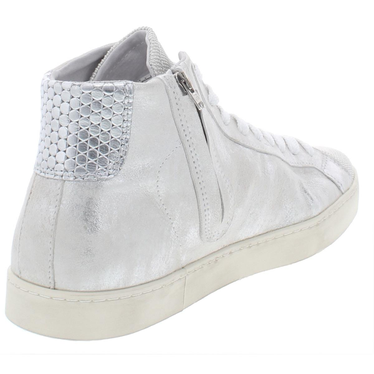 Steve-Madden-Womens-Hardwick-Leather-Fashion-High-Top-Sneakers-Shoes-BHFO-9054 thumbnail 6