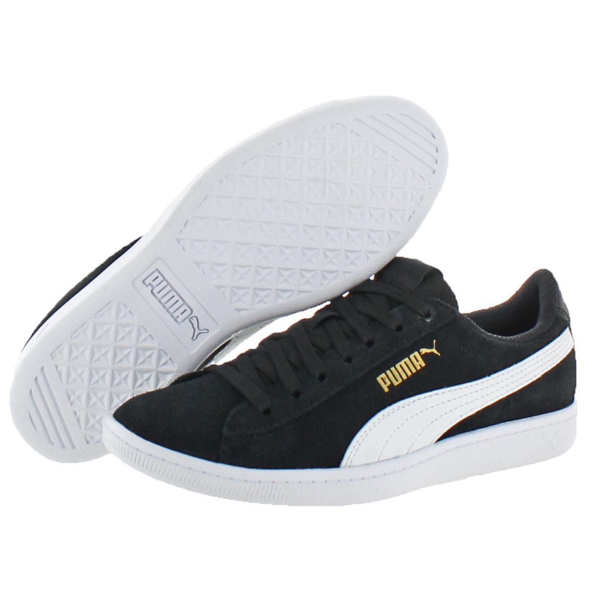 Puma-Vikky-Women-039-s-Suede-Softfoam-Court-Low-Top-Fashion-Sneaker-Shoes