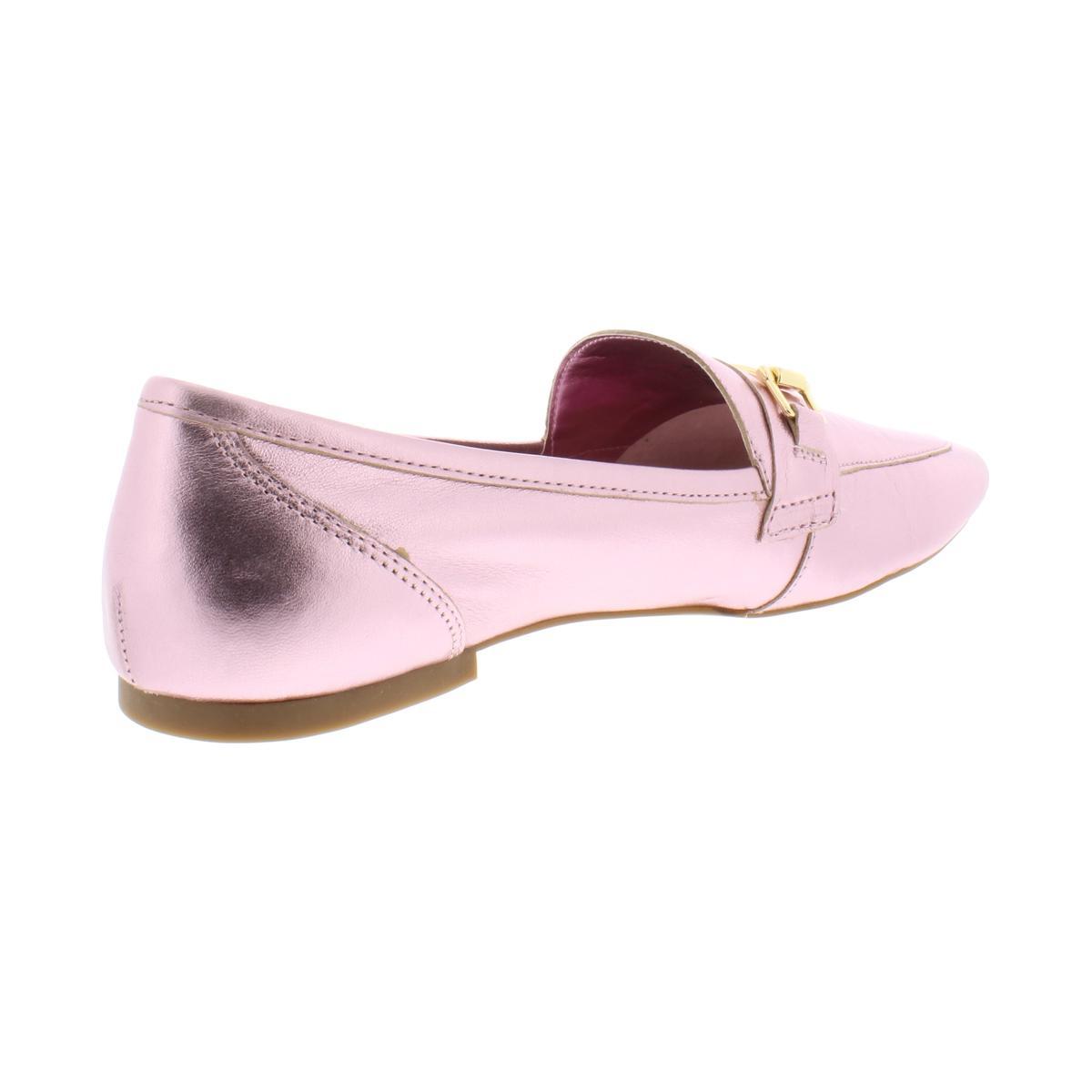 INC-Womens-Oleena-Metallic-Leather-Slip-On-Loafers-Flats-BHFO-6692 thumbnail 4