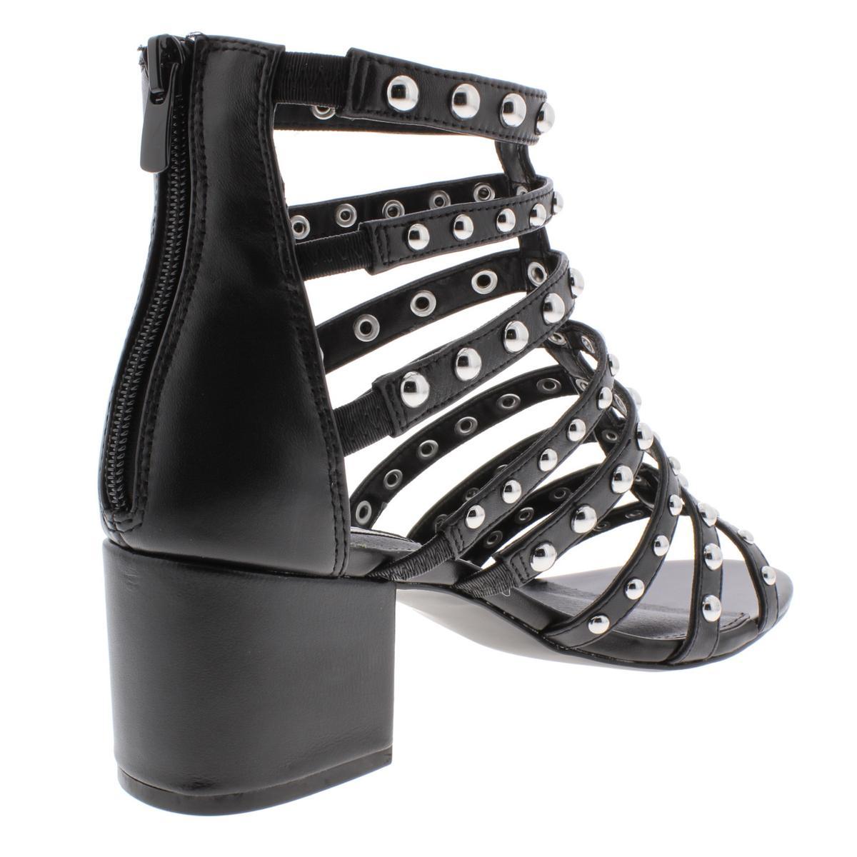 Steve Madden donna Mania Studded Strappy Strappy Strappy Gladiator Sandals scarpe BHFO 7521 553a8f