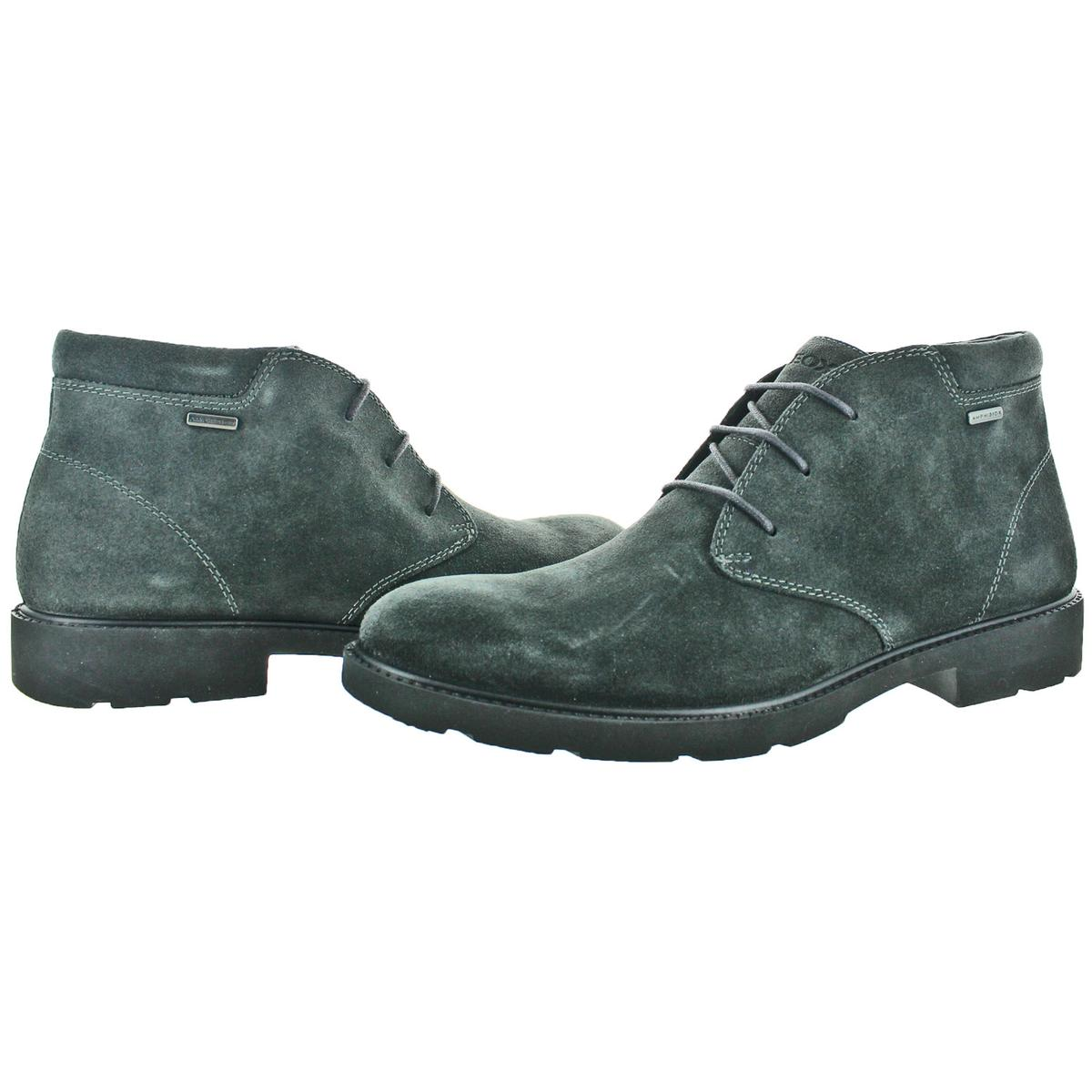 Geox-Rubbiano-ABX-Men-039-s-Waterproof-Suede-Ankle-Boots thumbnail 5