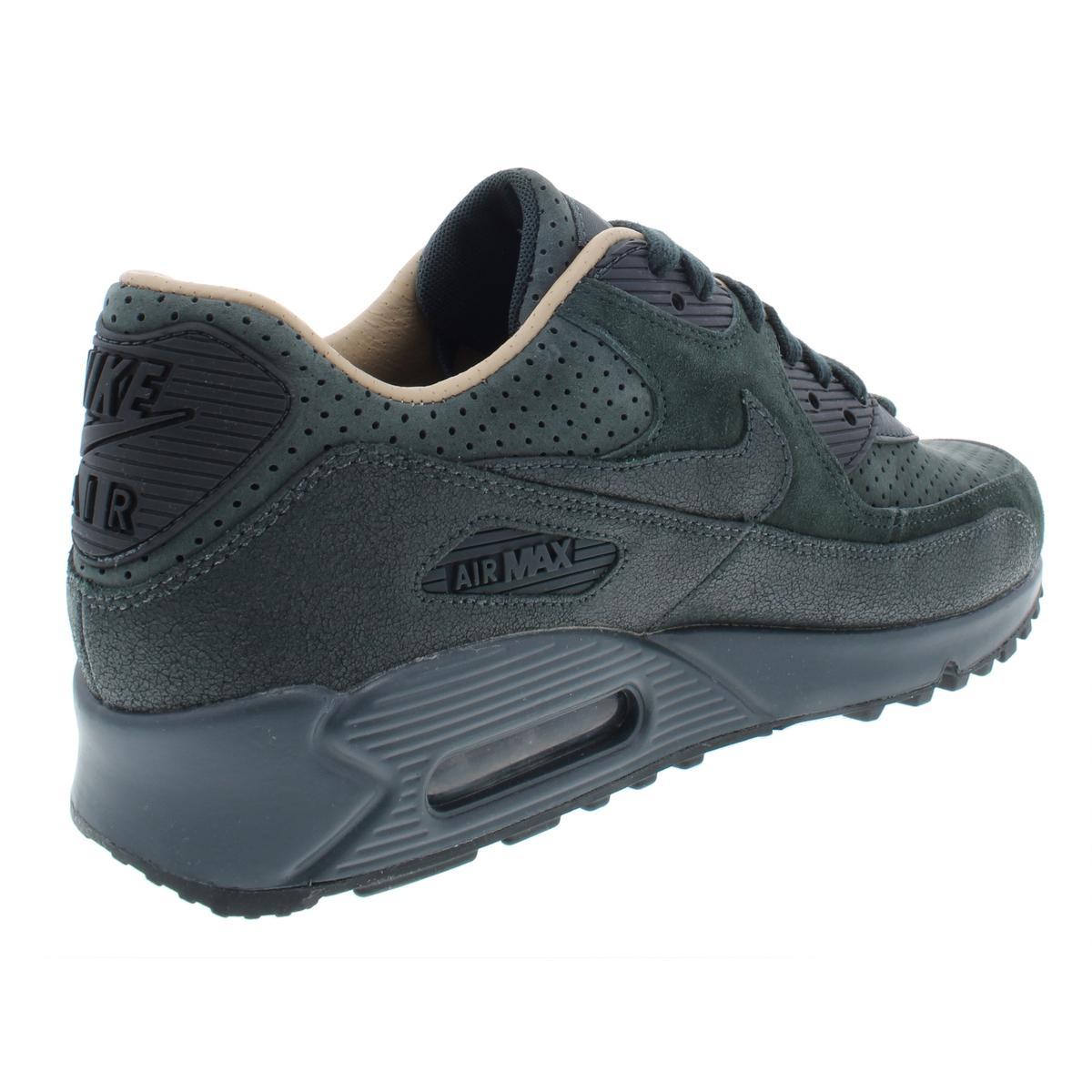 Nike-Womens-Air-Max-90-Pinnacle-Suede-Low-Top-Fashion-Sneakers-Shoes-BHFO-4140 thumbnail 10