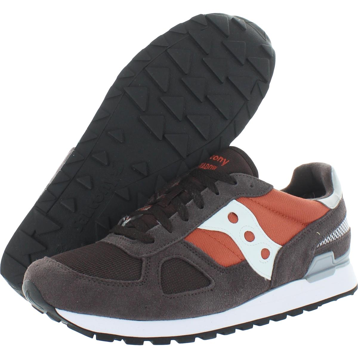 Saucony-Mens-Shadow-Original-Trainers-Suede-Comfort-Sneakers-Shoes-BHFO-0431 miniatuur 8