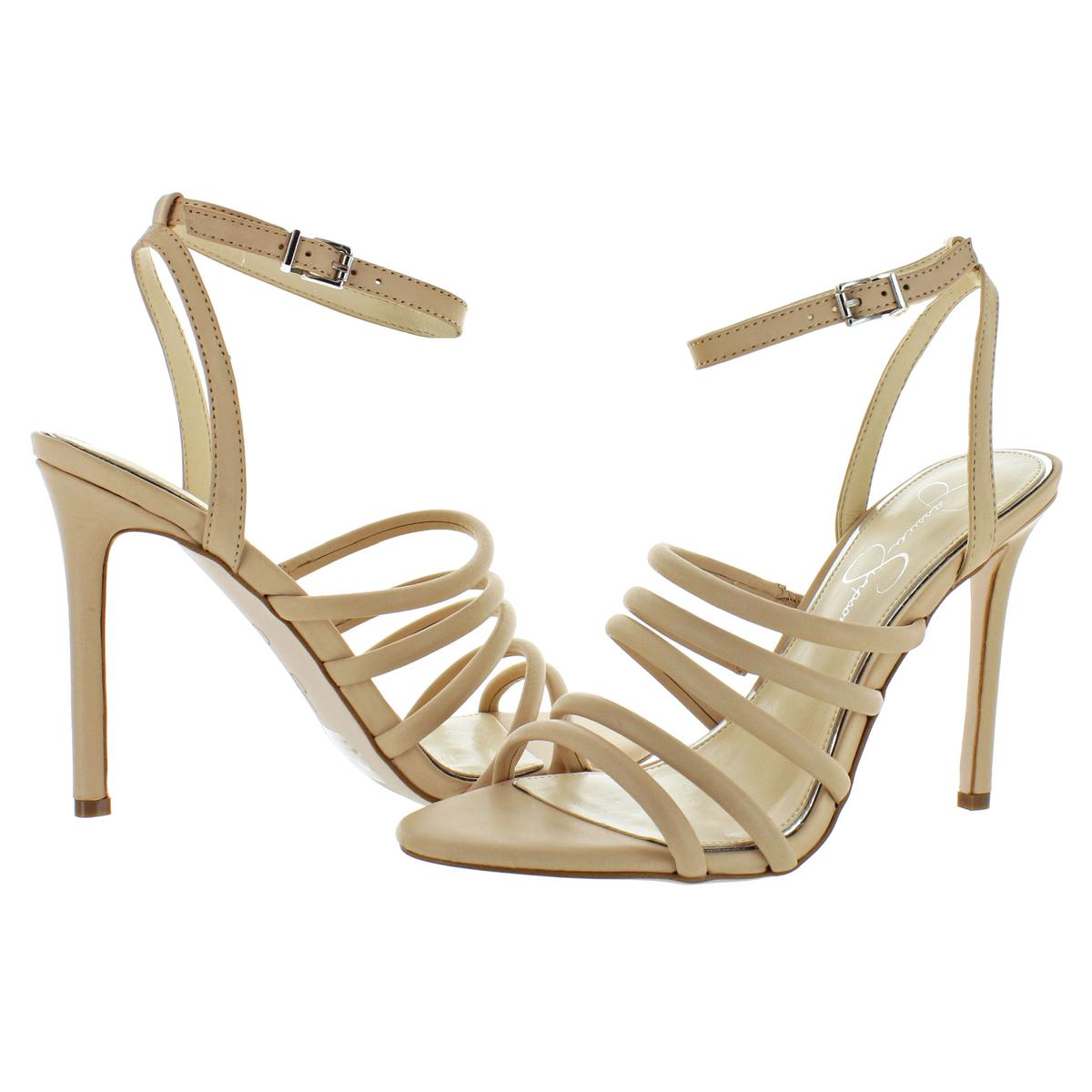 Jessica-Simpson-Femme-Joselle-a-Lanieres-Talon-Haut-Robe-Sandales-Chaussures-BHFO-7879 miniature 13