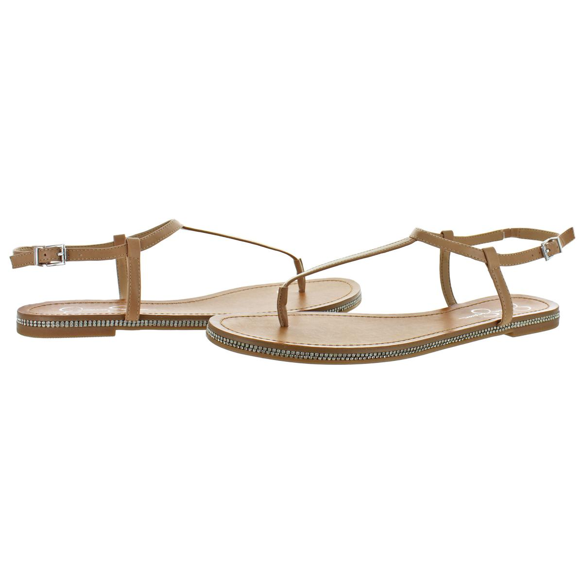 Jessica-Simpson-Femme-Brimah-Casual-String-Spartiates-Chaussures-BHFO-1194 miniature 7