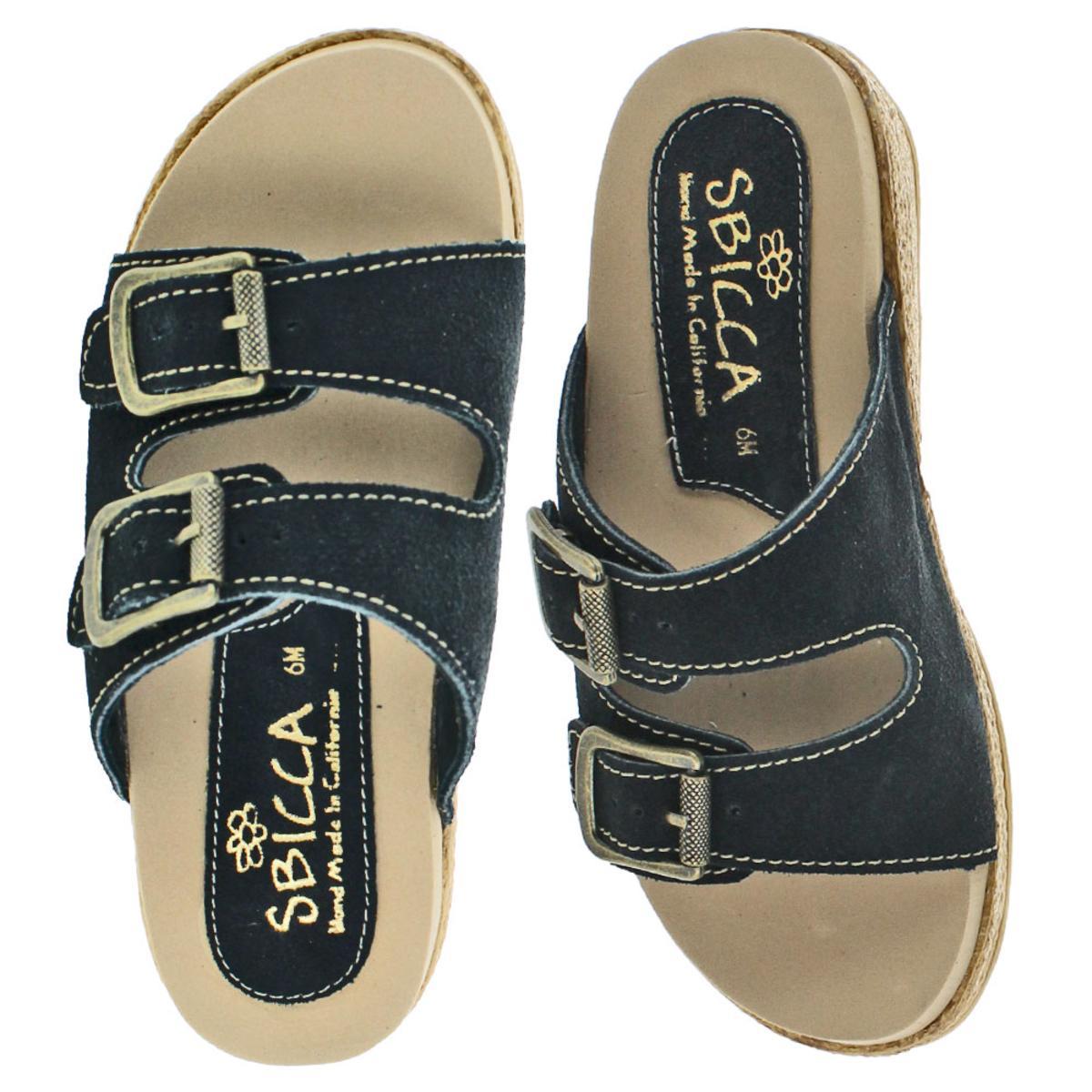 Sbicca-Espadrille-Buckle-Women-039-s-Buckle-Slide-Sandals thumbnail 6