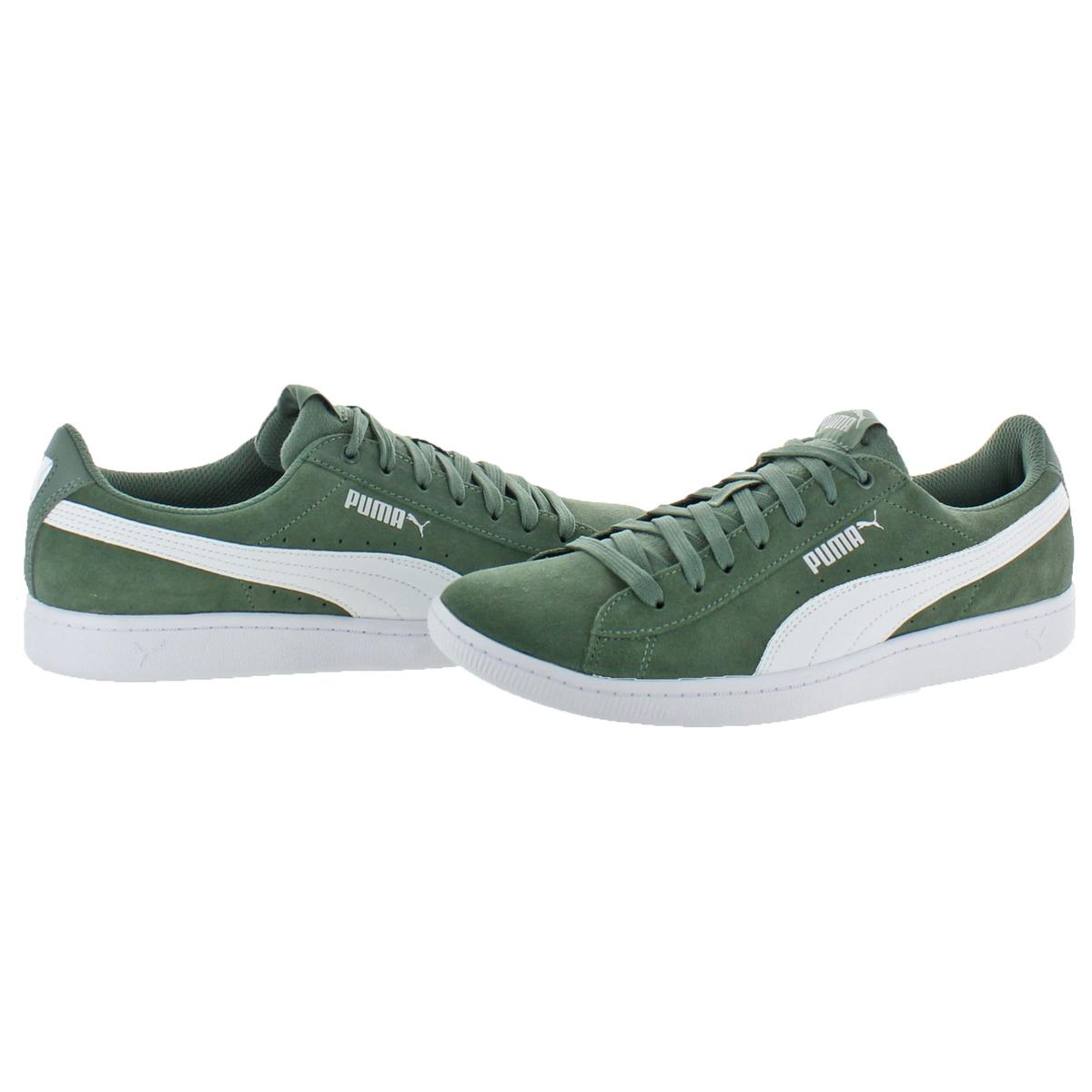 Puma-Vikky-Women-039-s-Suede-Softfoam-Court-Low-Top-Fashion-Sneaker-Shoes