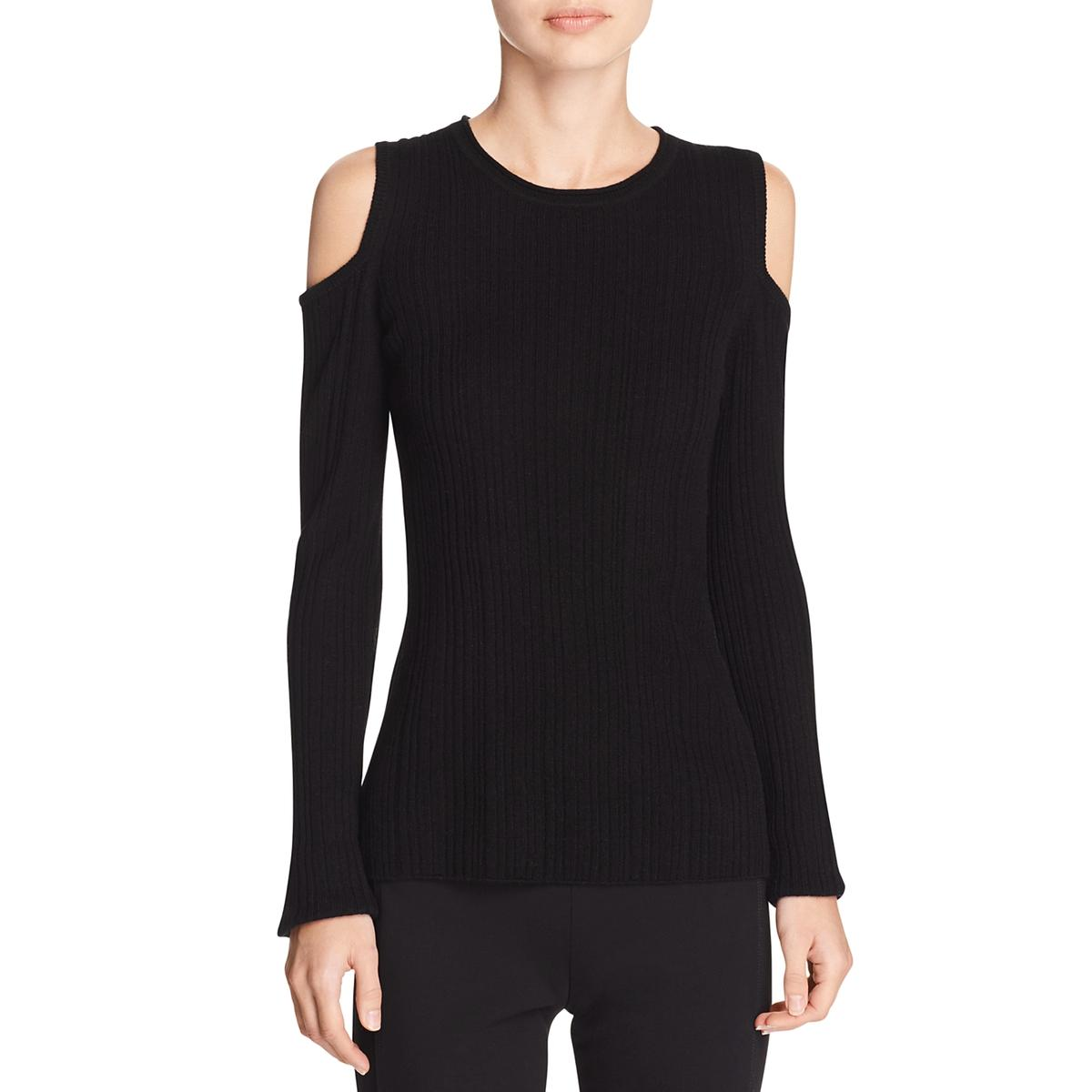 Elie Tahari 5696 Womens Marlah Wool Cashmere Pullover Sweater Top ...