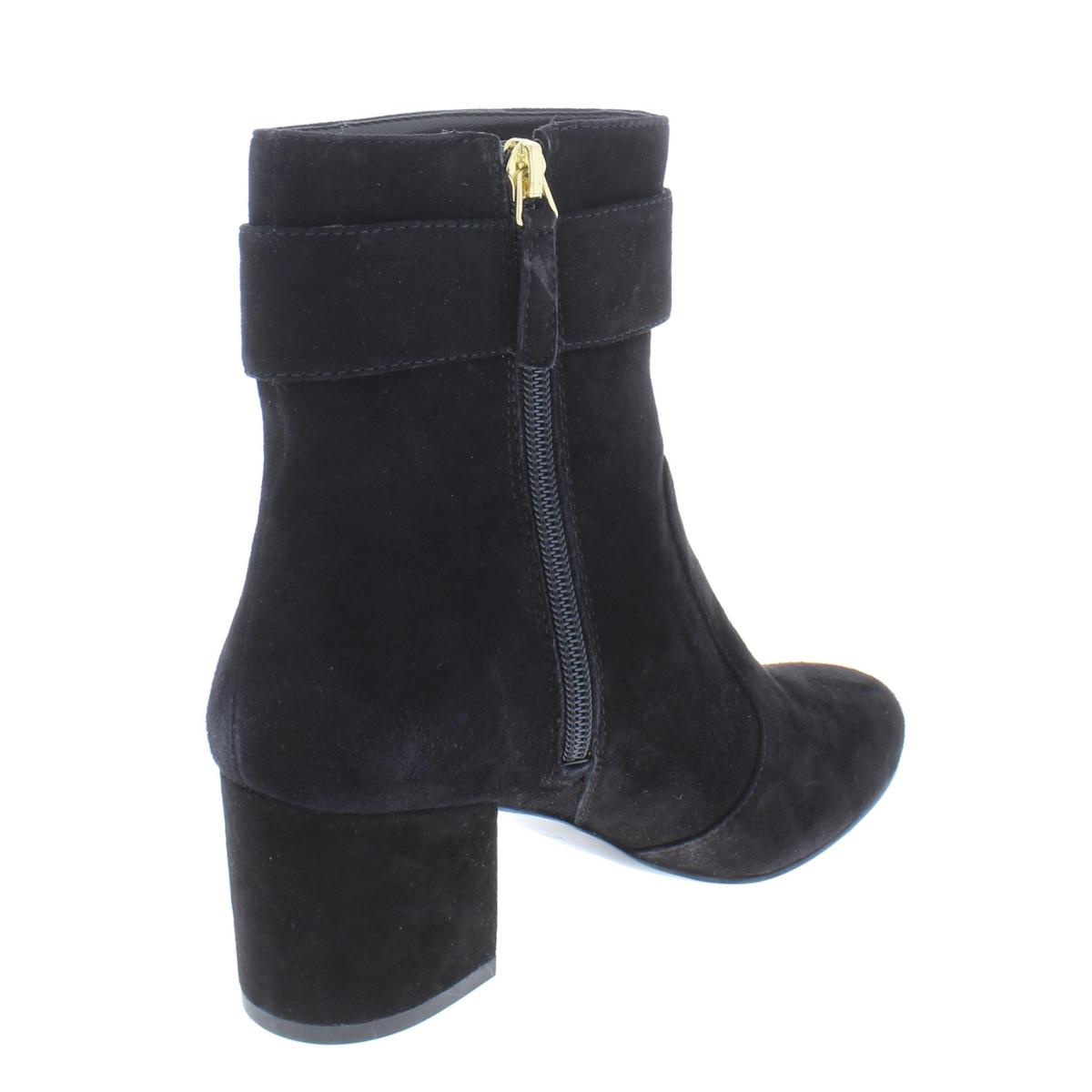 Nine West Damenschuhe Quilby Suede ... Block Heel Ankle Booties Schuhes BHFO ... Suede fe4599