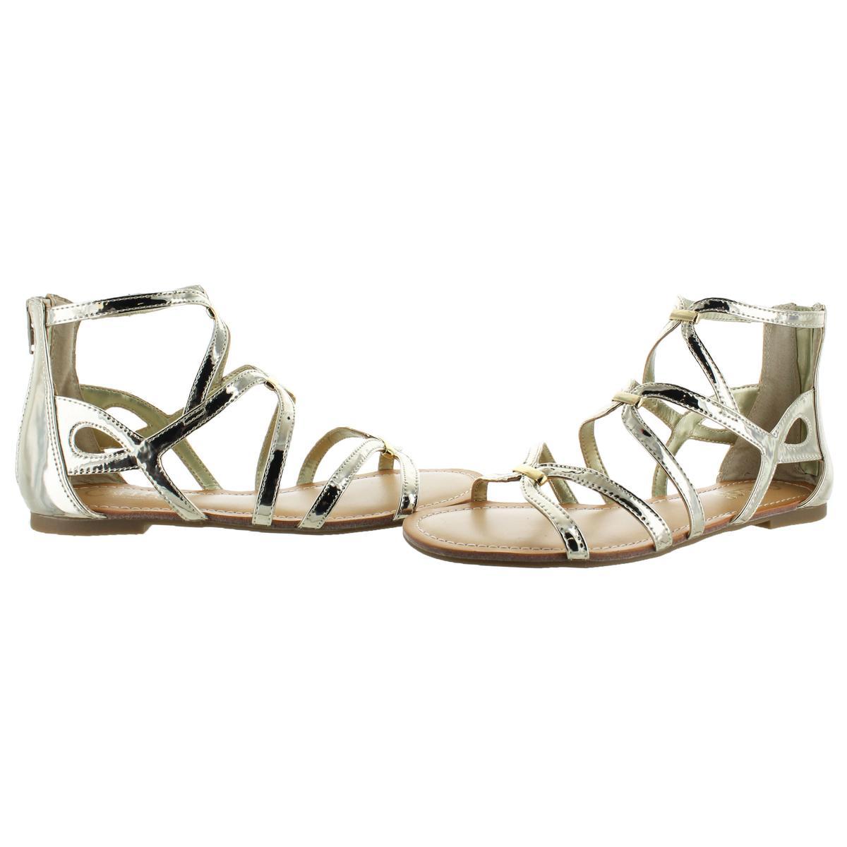 Carlos-by-Carlos-Santana-Emma-Women-039-s-Open-Toe-Caged-Strappy-Casual-Flat-Sandals thumbnail 3