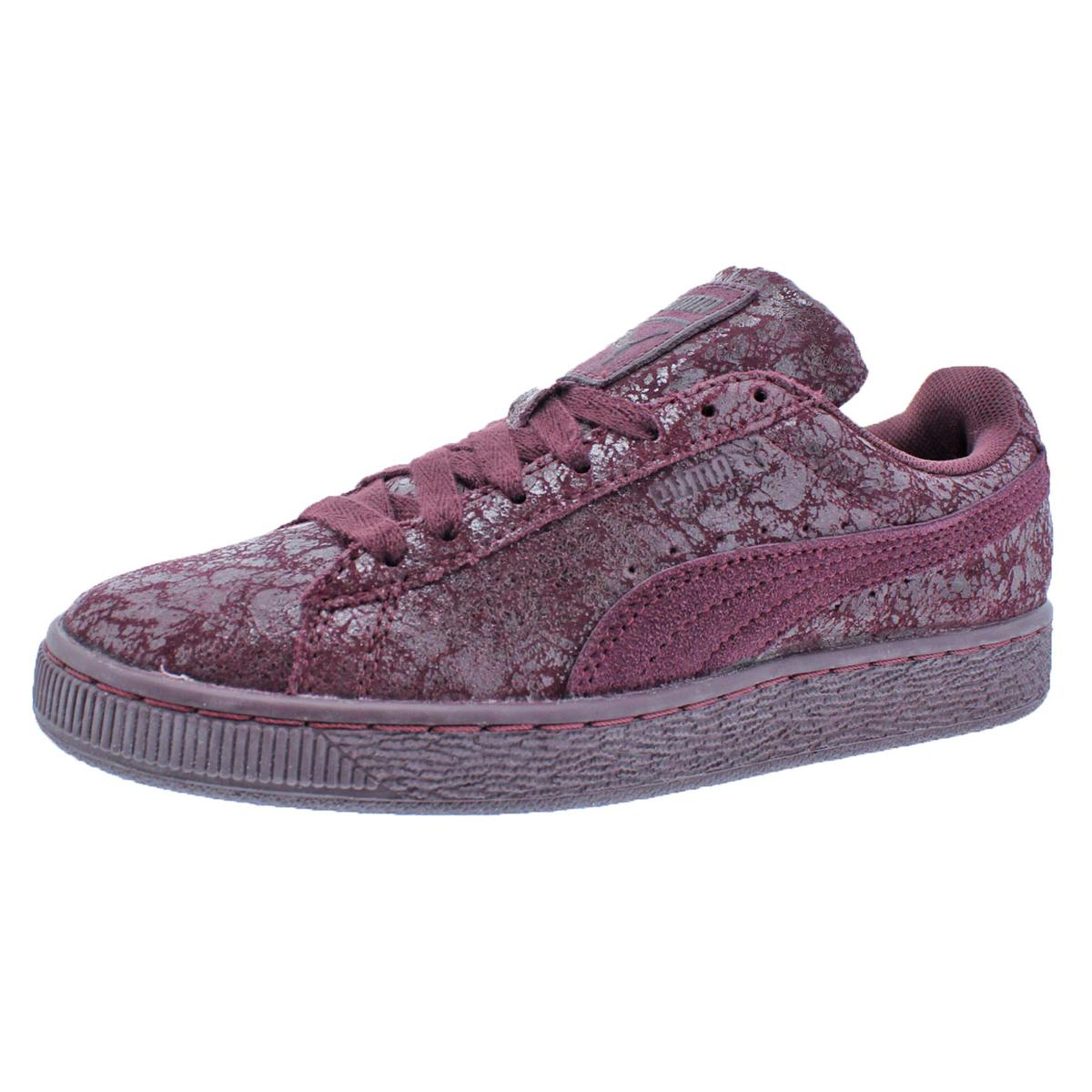Puma Damenschuhe Suede Remaster Trainer Low Top Fashion Sneakers Schuhes BHFO 0964