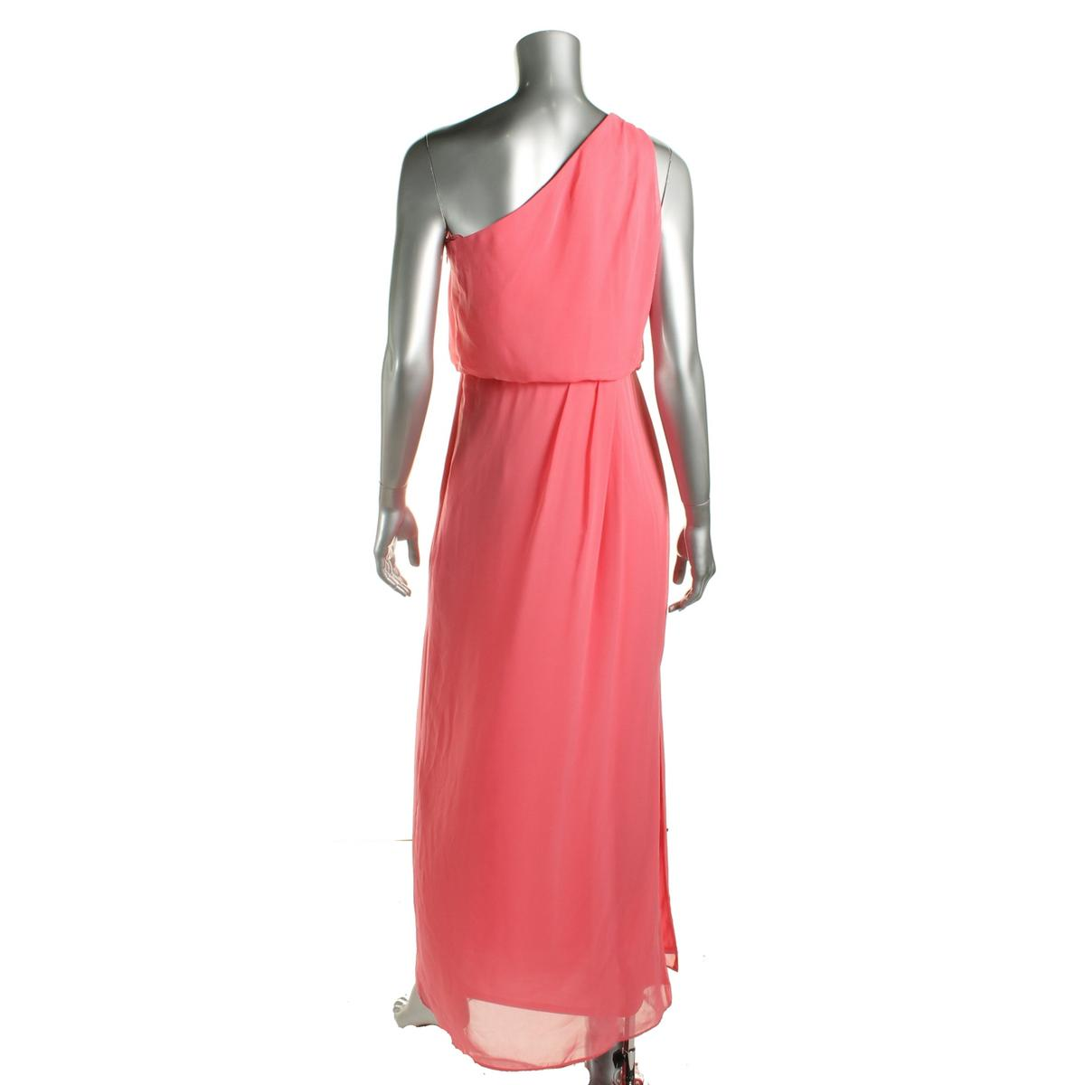 Adrianna Papell Womens Chiffon Embellished Evening Dress Gown BHFO ...