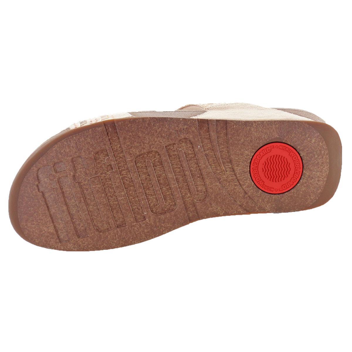 83f98ba28 FitFlop Womens Incastone Pink Slide Sandals Shoes 8 Medium (b M ...
