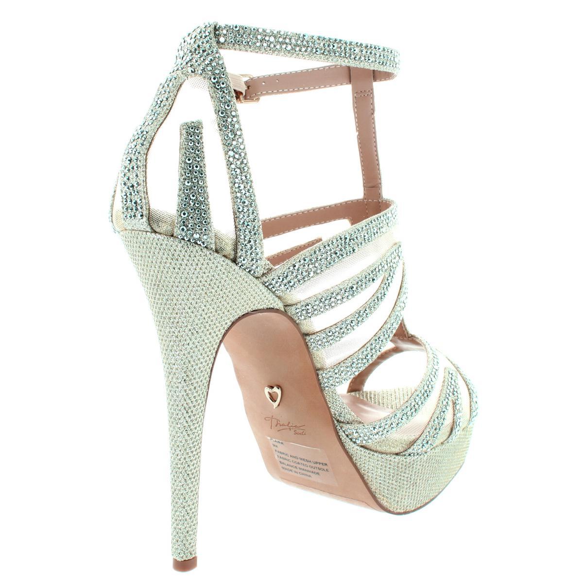 Thalia-Sodi-Womens-Flairr-Stilettos-Open-Toe-Evening-Heels-Platforms-BHFO-3444 thumbnail 7