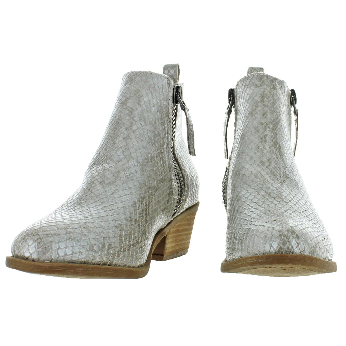 Size Us 9.5 Boots Women's Shoes Very G Cassidy Women's Metallic Block Heel Ankle Boots