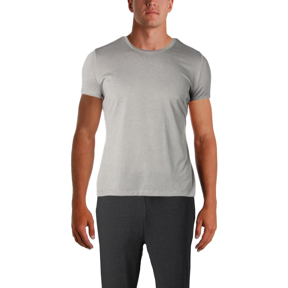 1db9e02c Details about Champion Mens Gray Fitness Running Gym T-Shirt Top L BHFO 9630