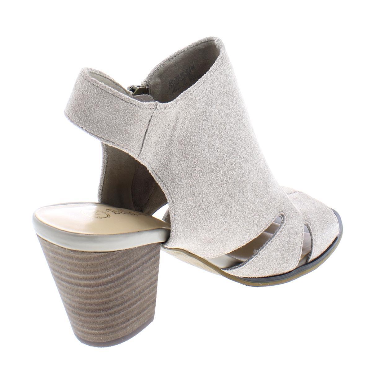0cf5ad27c4e Bella Vita Womens Kimmy Block Heel Cut-Out Wedge Sandals Shoes BHFO ...