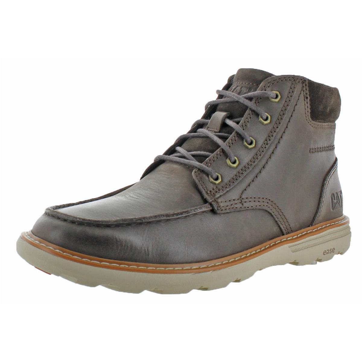 Caterpillar Mens Colorado Tan Ankle Boots Shoes 8.5 Medium (D) BHFO 6446