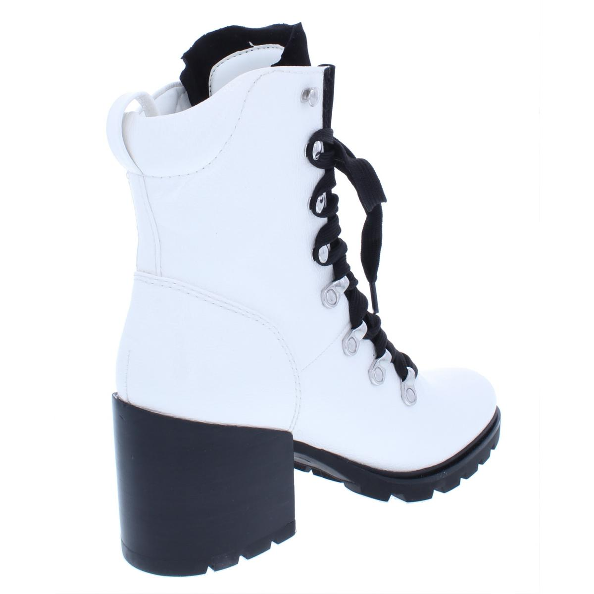 Kendall + Kylie para mujer Spencer Spencer mujer 4 Charol botas Zapatos de combate BHFO 9077 9f5524