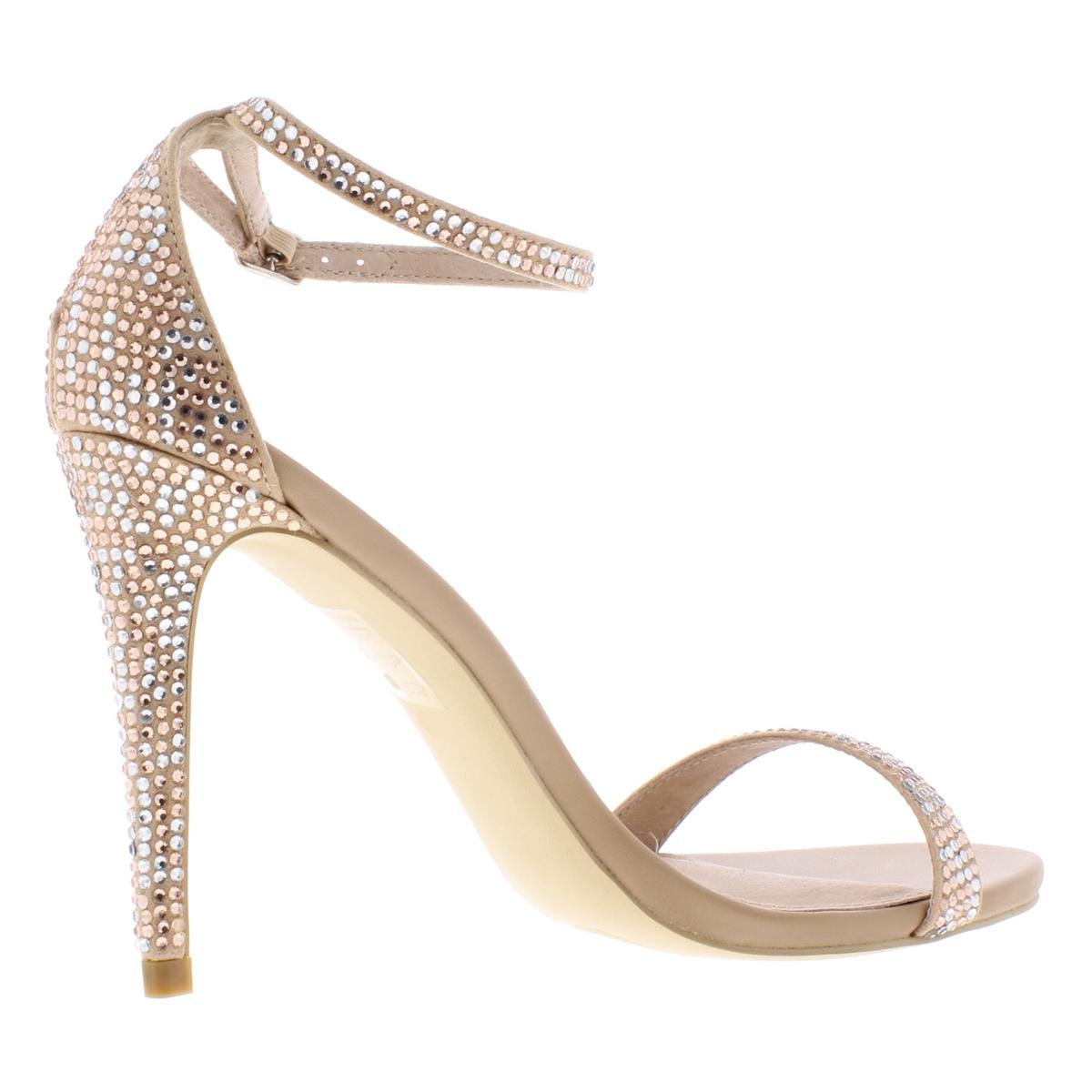 Steve-Madden-Womens-Stecy-Dress-Evening-Sandals-Shoes-BHFO-6444 thumbnail 8