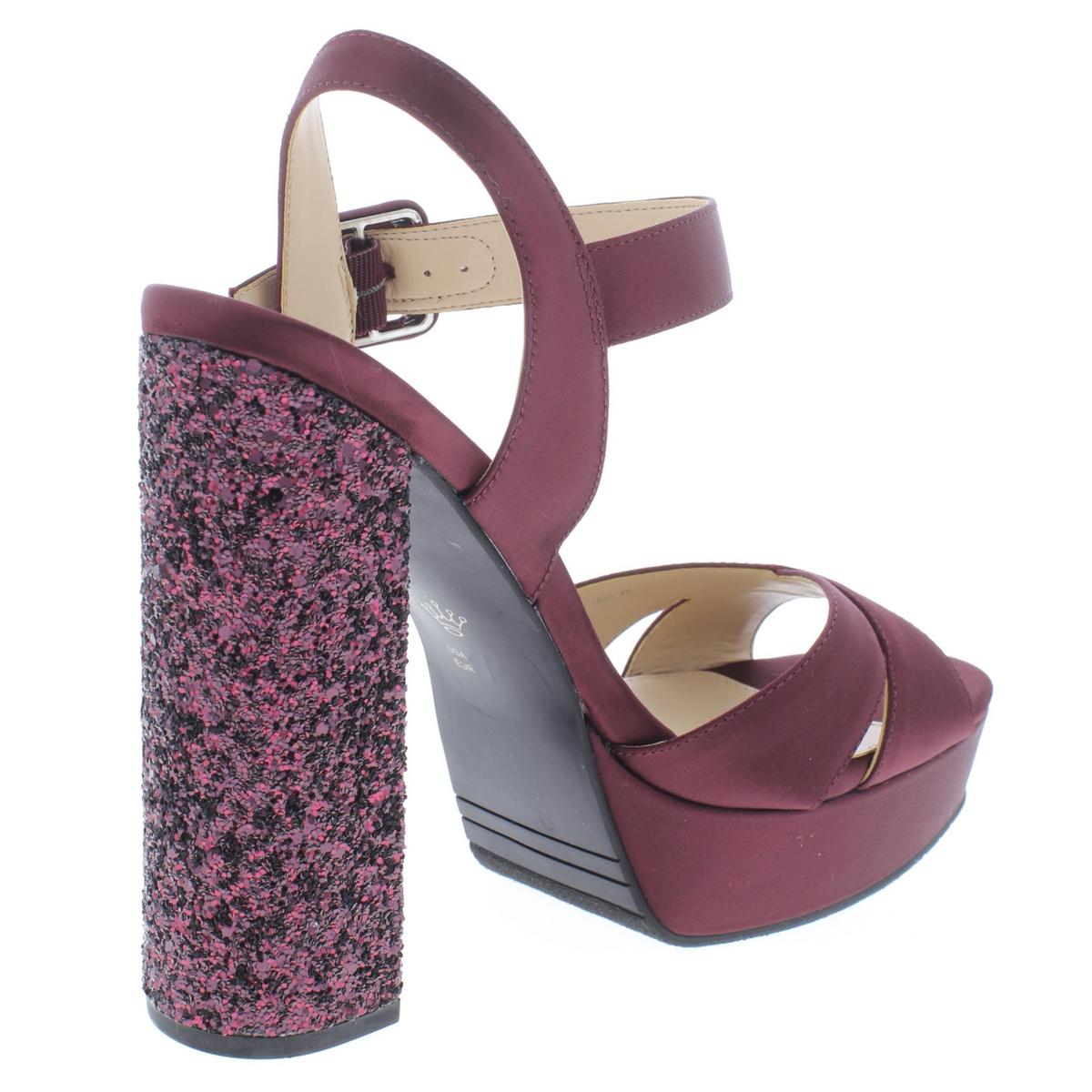 6f53214b92 Nina Womens Savita Purple Platform Sandals Shoes 8.5 Medium (b M ...