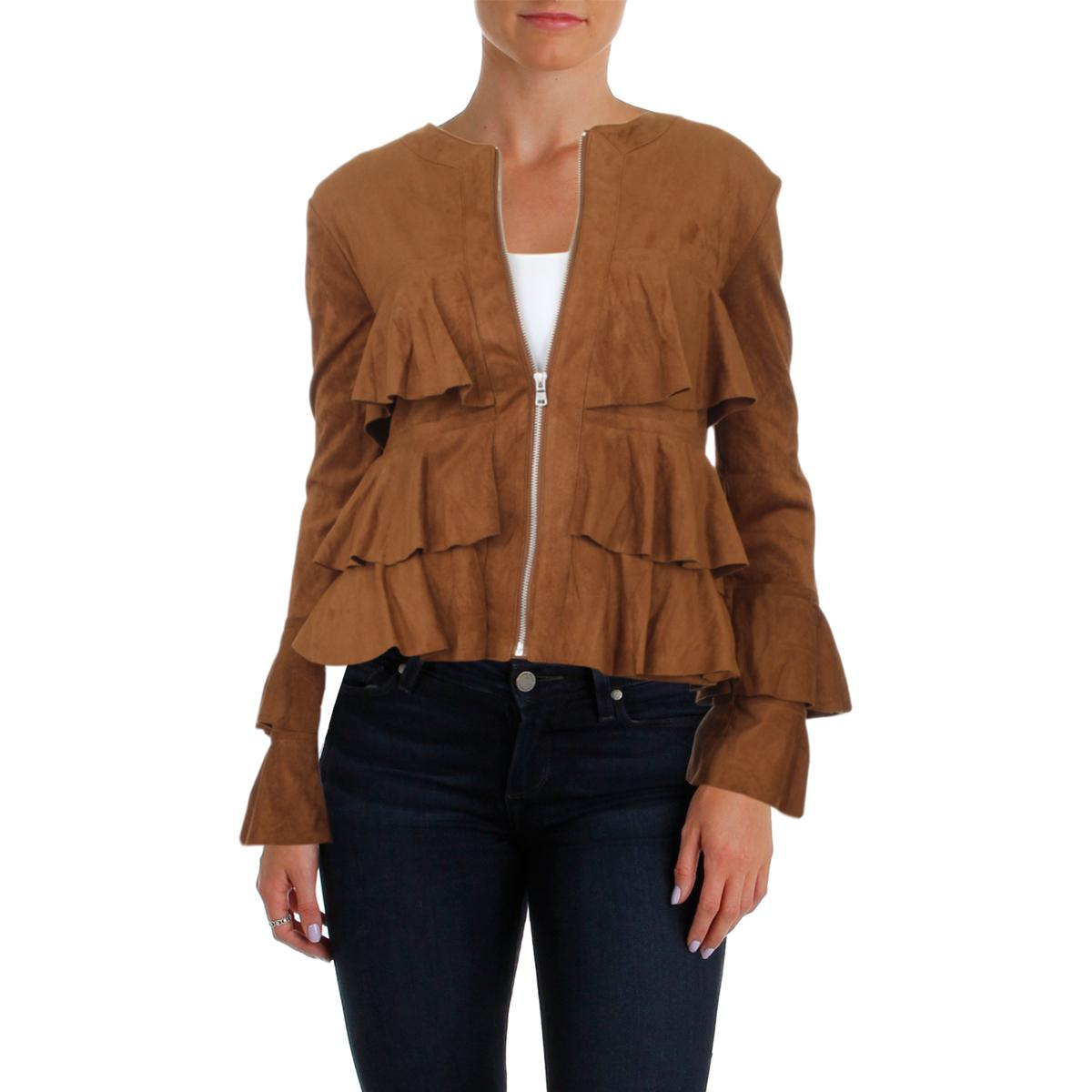 INC-Womens-Fall-Faux-Suede-Fashion-Cropped-Jacket-Outerwear-BHFO-0210