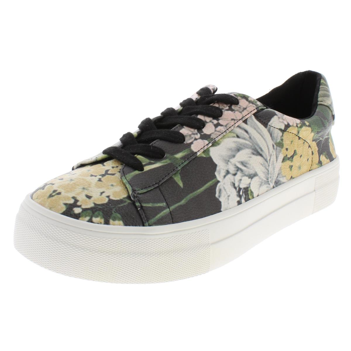 8e13f02b1ba Details about Steve Madden Womens Gisela Black Sneaker Sneakers Shoes 7  Medium (B,M) BHFO 9173