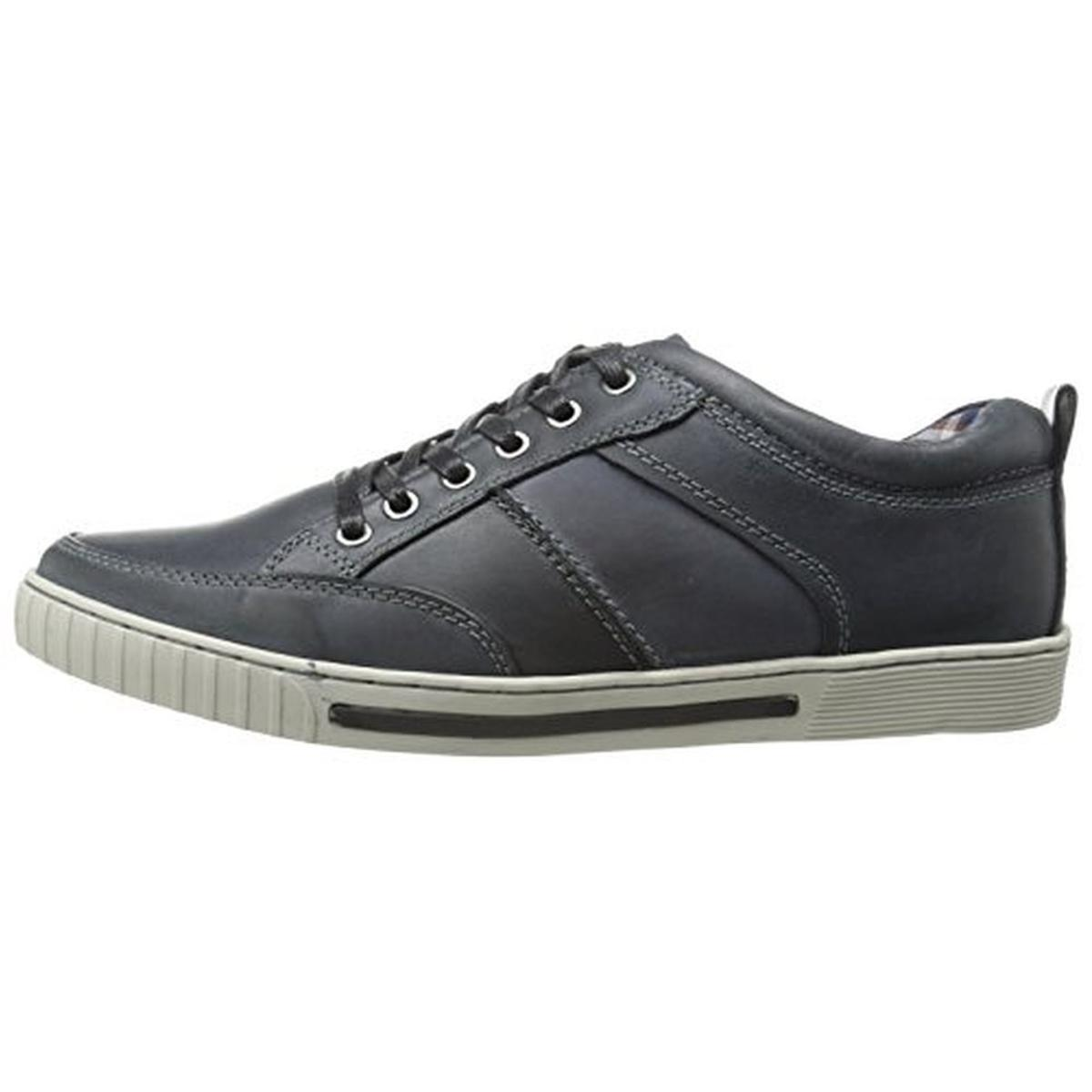 5d180639ff6 Steve Madden Pipeur Men s Leather Classic Casual Fashion Sneakers ...