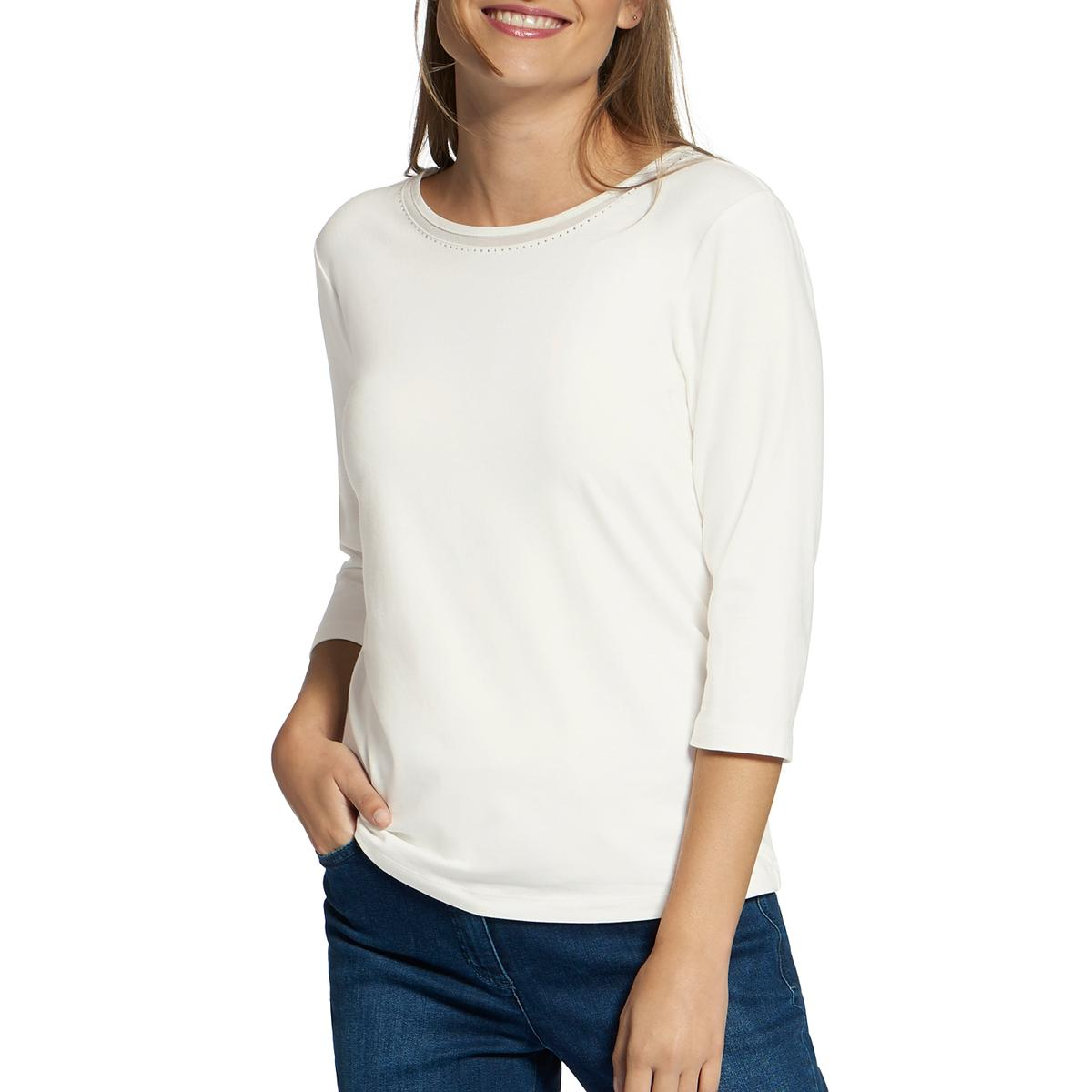Womens Embellished Sleeve Top