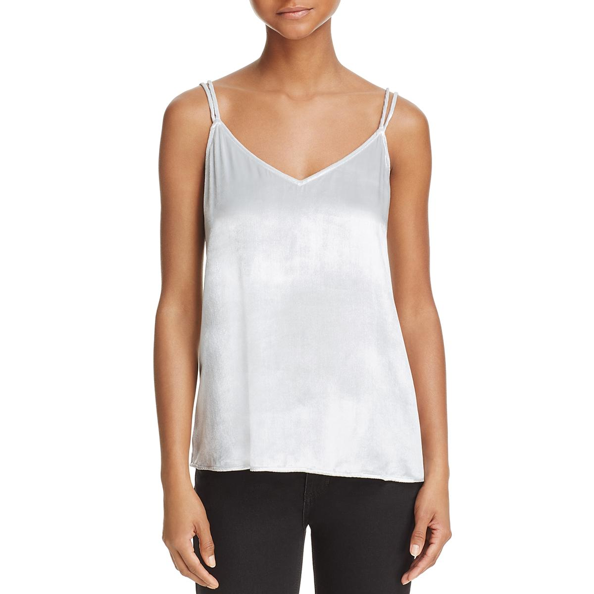 4223b23714e38 Details about Equipment Femme Womens Layla Silk Velvet Camisole Top Cami  BHFO 9182