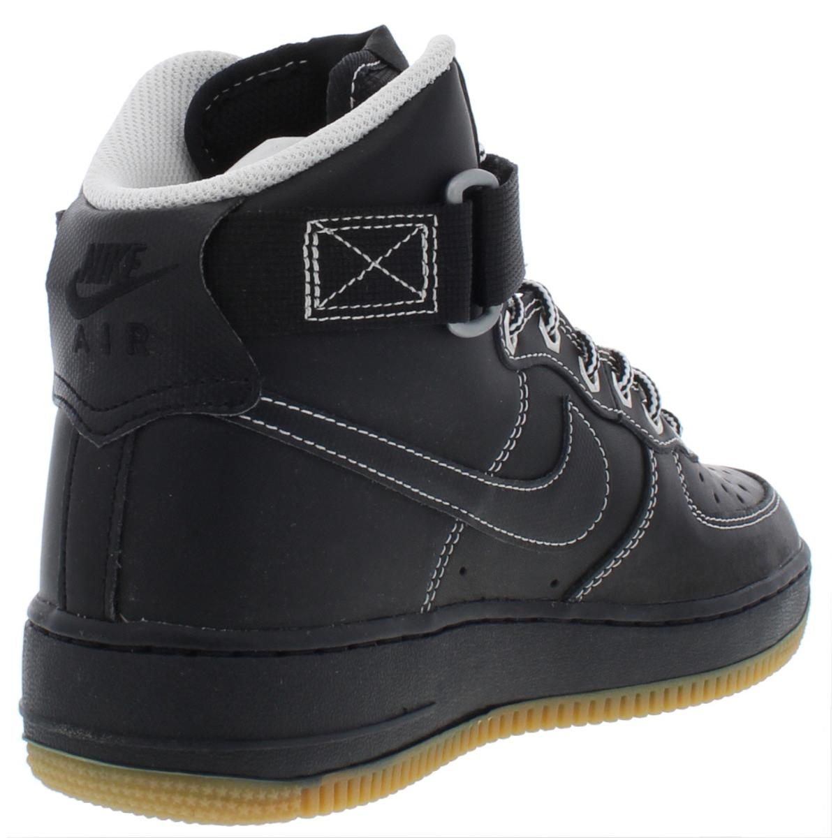 207e3c7ea4cd82 Nike Mens Air Force 1 High 07 Leather High Top Athletic Shoes ...