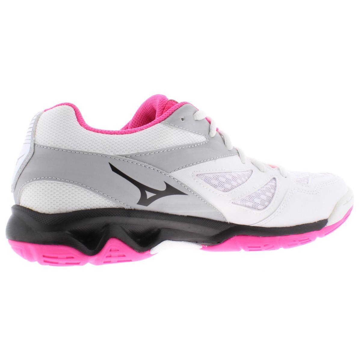 Mizuno-Womens-Thunder-Blade-Low-Top-Non-Marking-Sneakers-Shoes-BHFO-9051 thumbnail 9