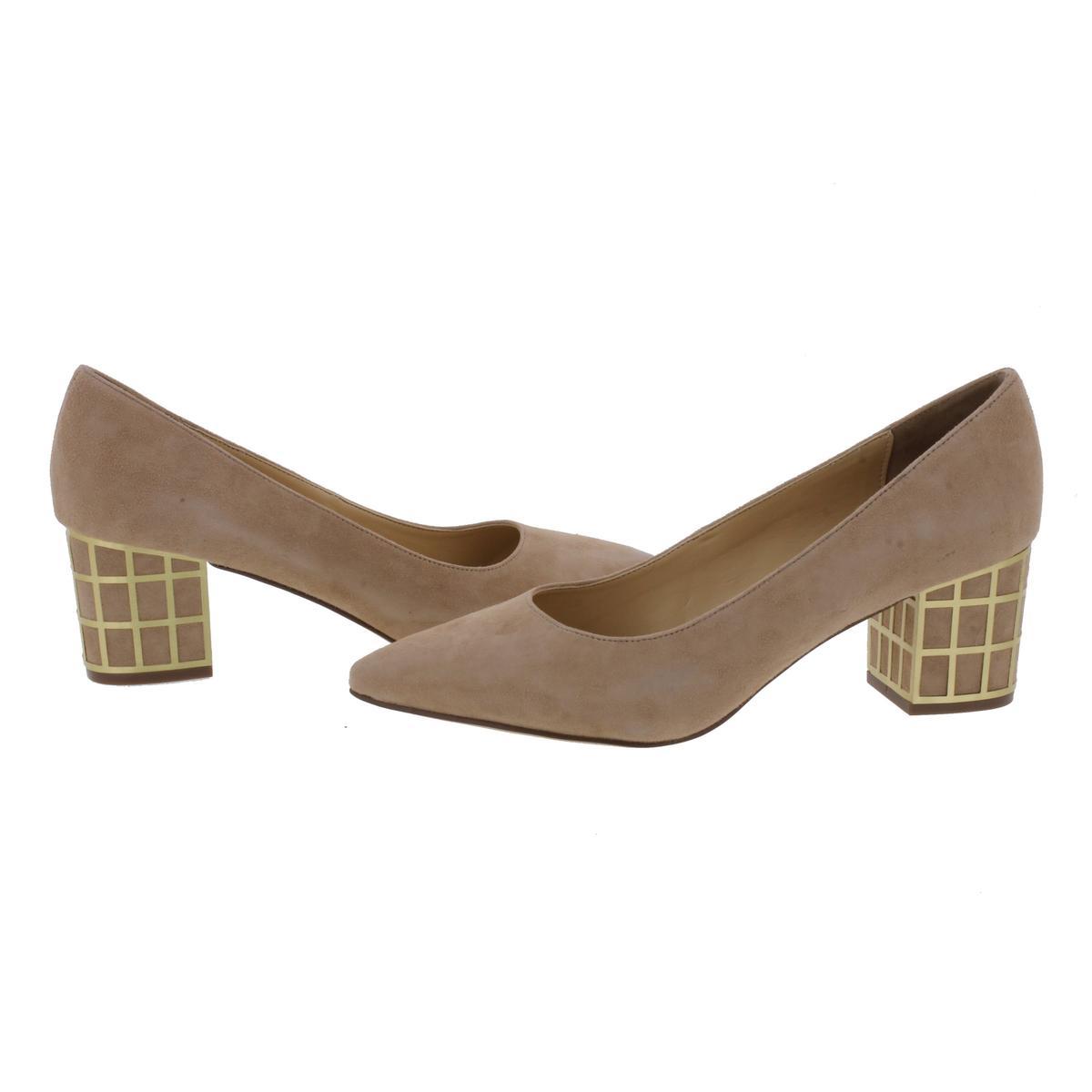 B Brian Atwood Damenschuhe Karina Embellished Pointed Toe Block Heels Schuhes BHFO 3092