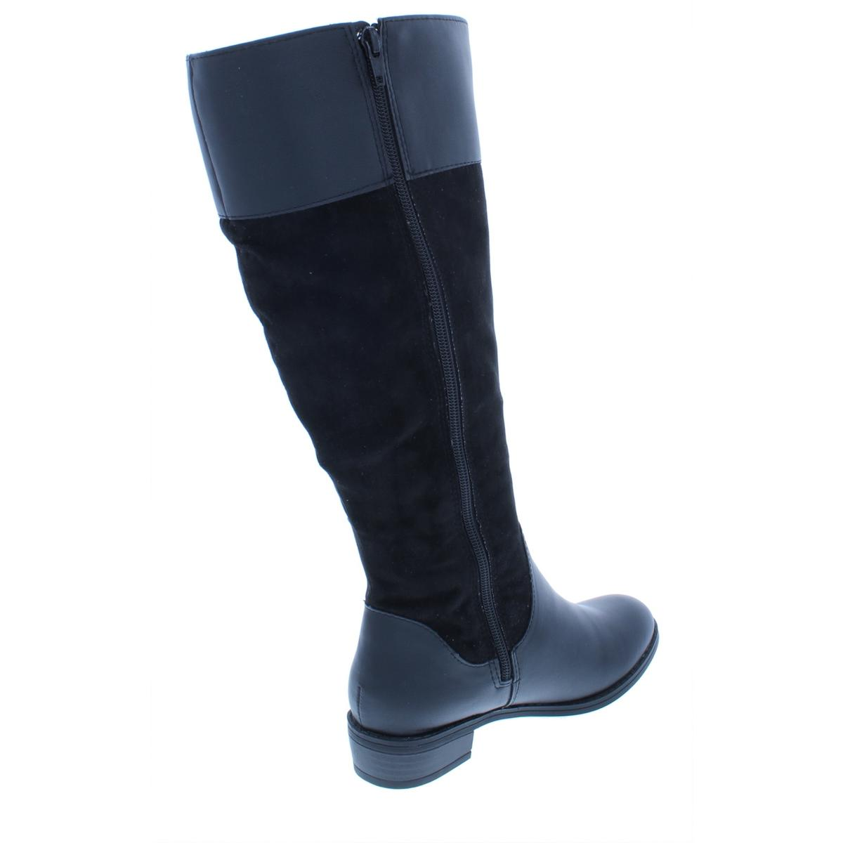 Karen-Scott-Womens-DelieeWC-Wide-Calf-Over-The-Knee-Riding-Boots-Shoes-BHFO-5181 thumbnail 4