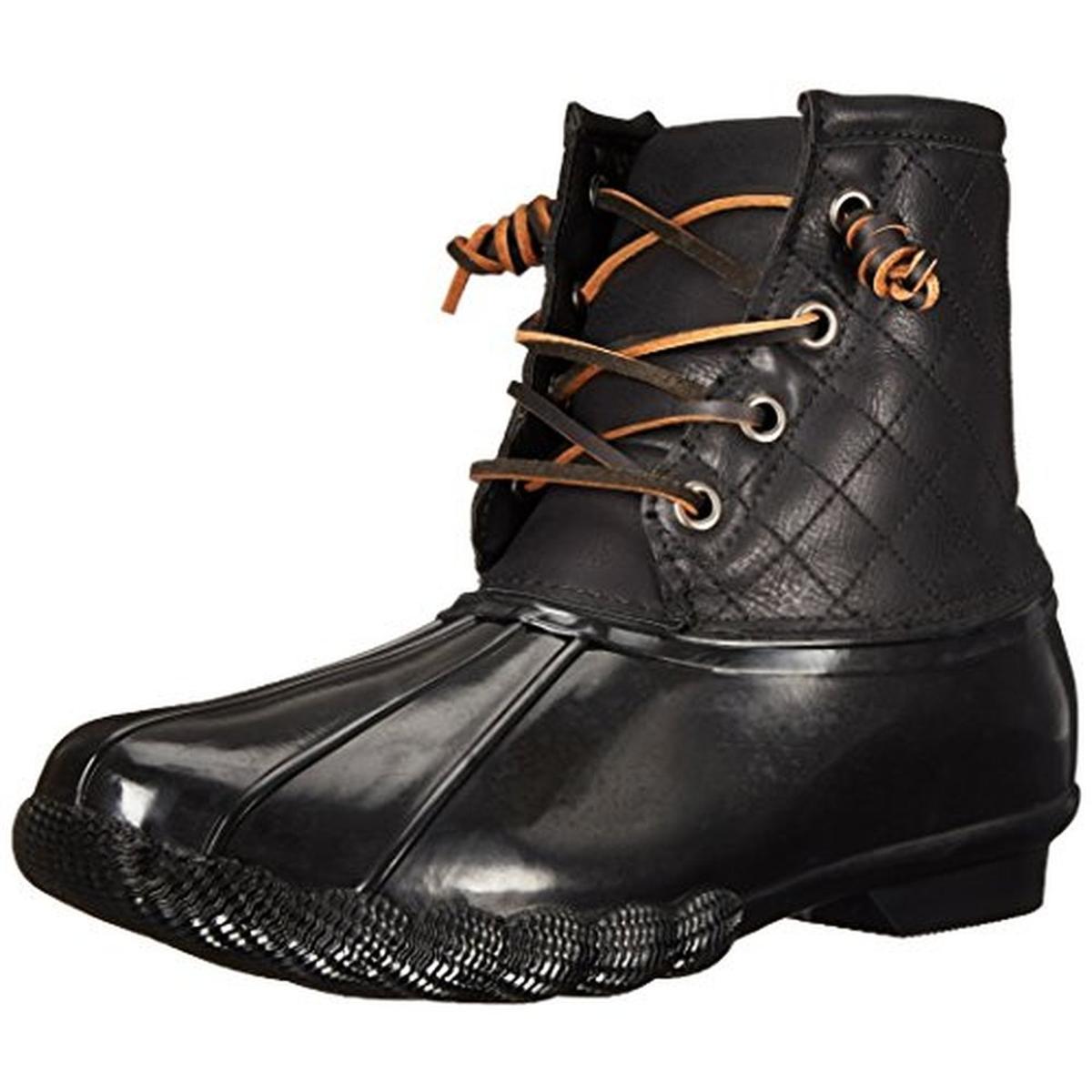 Steve Madden Womens Tillis Black Winter Pac Boots shoes 9 Medium (B,M) BHFO 5276