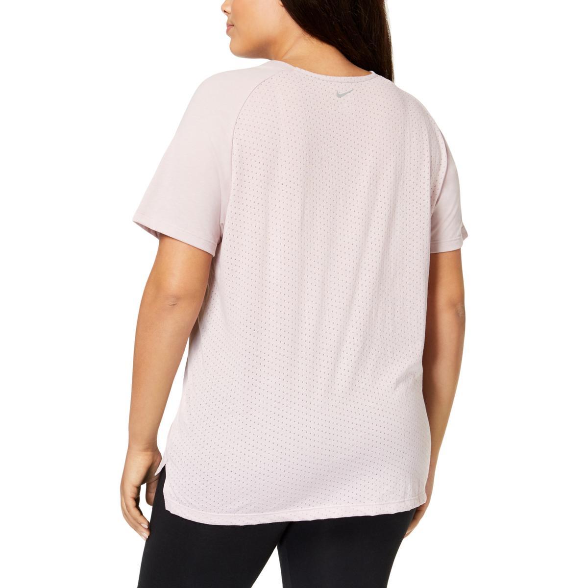 2afa121d1e4f82 Nike Womens Breathable Dri-Fit Active Wear Pullover Top Shirt Plus ...