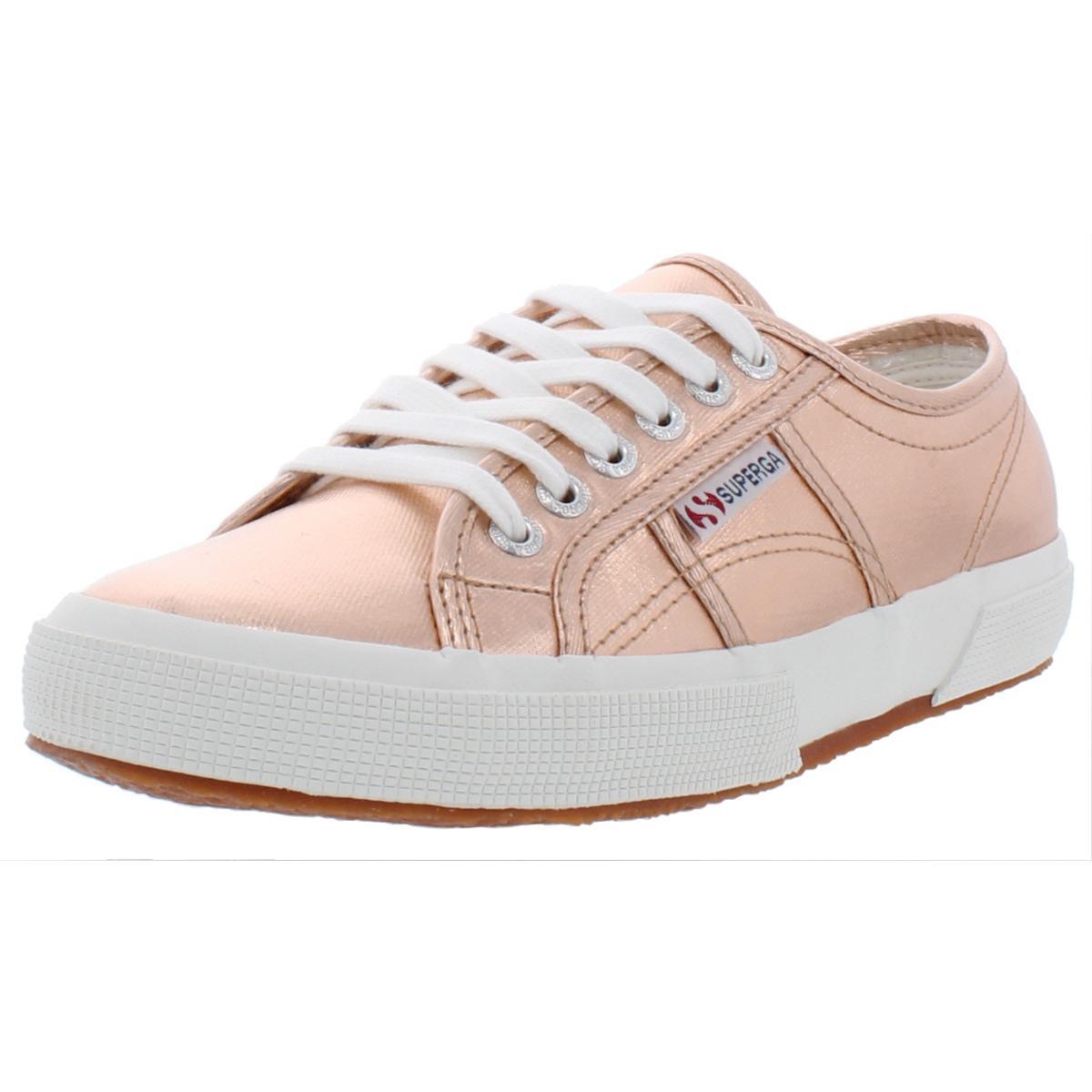 Superga Womens 2750 Nylon Low-Top Skate Sneakers Shoes BHFO 0321