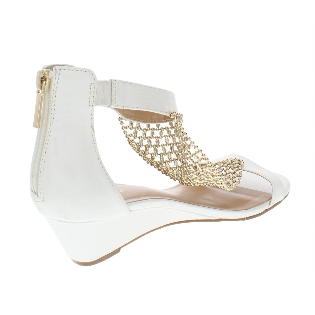 Thalia-Sodi-Womens-Tibby-T-Strap-Embellished-Wedge-Sandals-Shoes-BHFO-5842 thumbnail 10