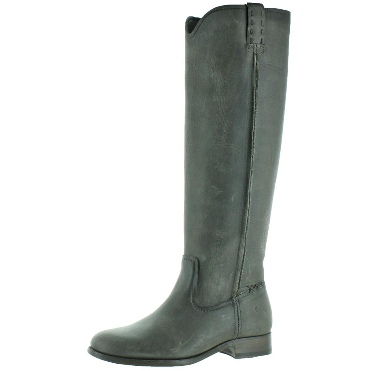 4eb033622ebd7 Details about Frye Cara Tall Women s Knee-High Pull-On Riding Boots