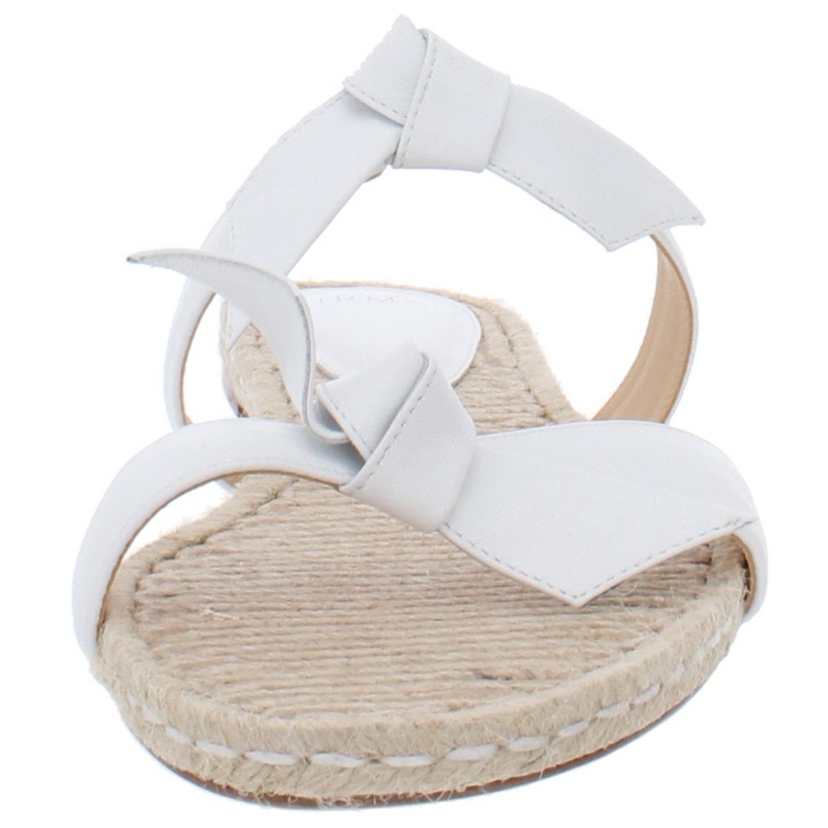 thumbnail 12 - Alexandre Birman Womens Clarita Leather Flats Slide Sandals Shoes BHFO 6244