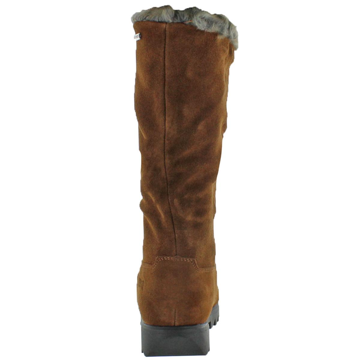 Cougar Women s Zephyr Suede Faux Fur Trim Waterproof Winter Snow ... 26dd991a815