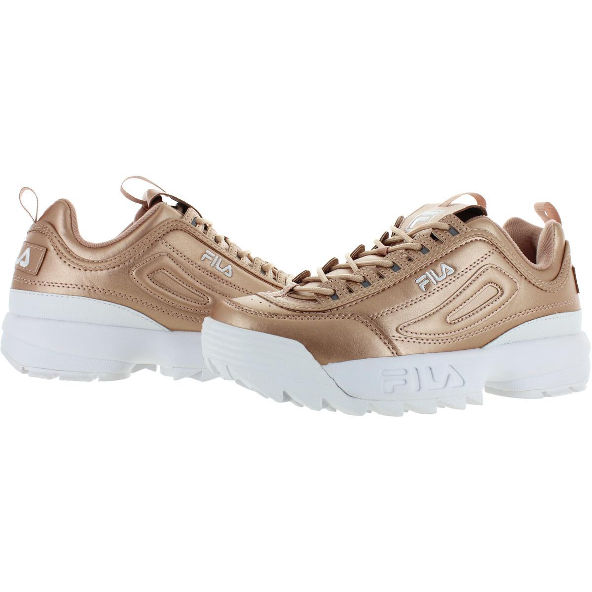 Fila-Womens-Disruptor-II-Premium-Metallic-Trainers-Sneakers-Shoes-BHFO-5237 thumbnail 12