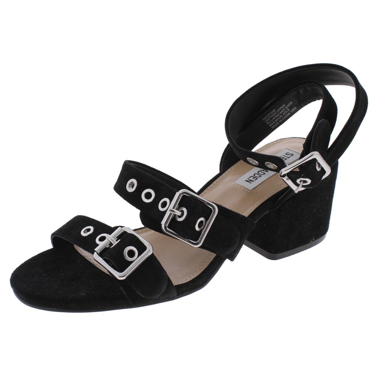 Steve-Madden-Womens-Rotating-Open-Toe-Double-Strap-Dress-Sandals-Shoes-BHFO-4421 thumbnail 5