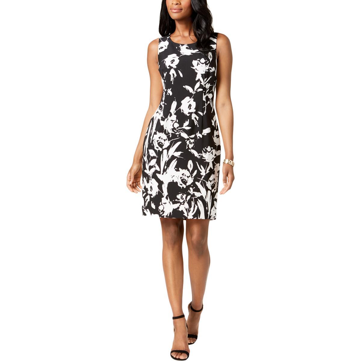 01787dacc8a Details about Kasper Womens Floral Print Colorblock Wear to Work Dress Plus  BHFO 9234