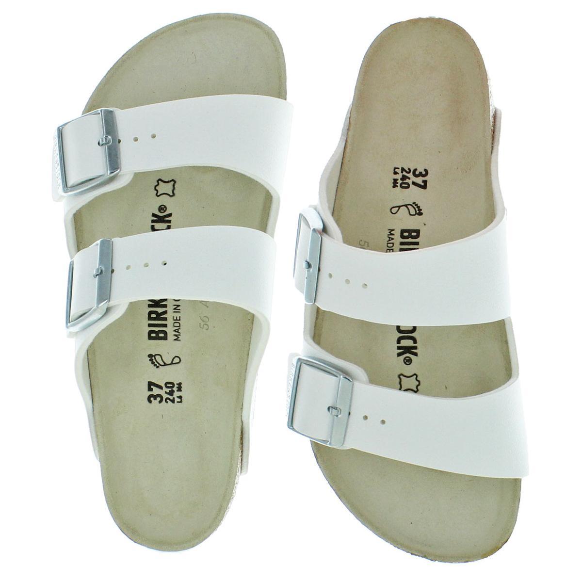Birkenstock-Women-039-s-Arizona-Double-Buckle-Cork-Sandals thumbnail 9