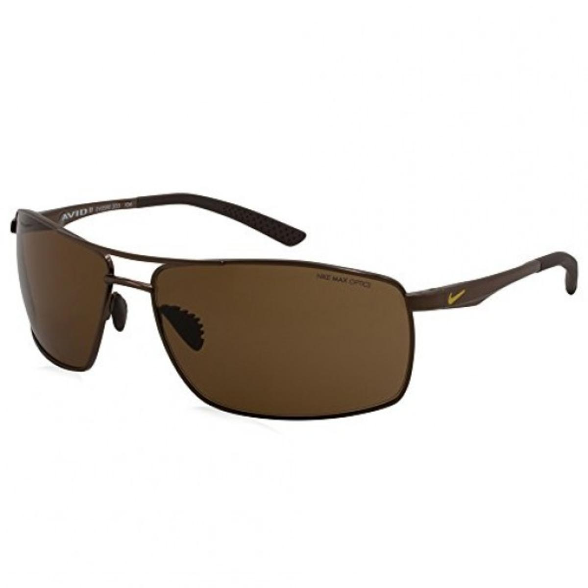Nike Mens Avid II Max Optics UV Protection Aviator ...