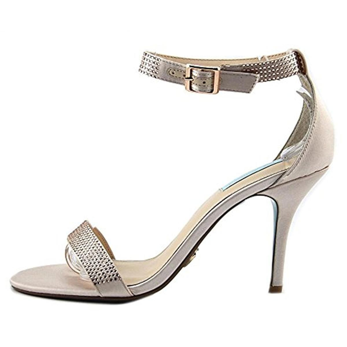 Blue-by-Betsey-Johnson-Womens-Shilo-Studded-Heels-Dress-Sandals-Shoes-BHFO-0493 thumbnail 9