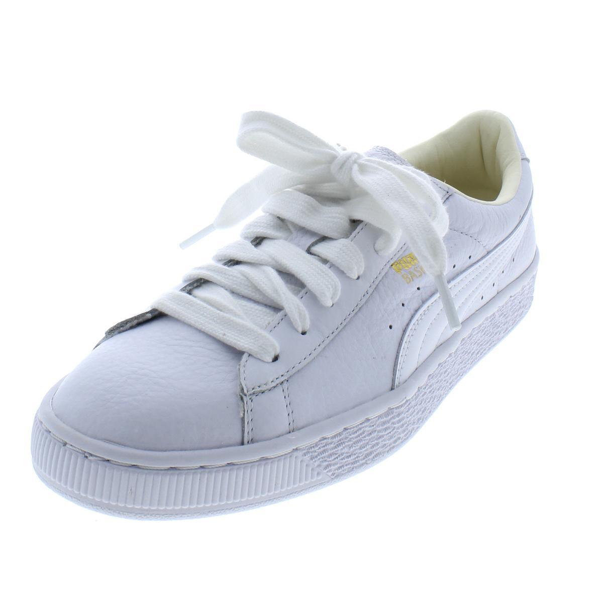 Details about Puma Womens Basket Classic White Fashion Sneakers 8.5 Medium  (B 9b363d1cbe89f