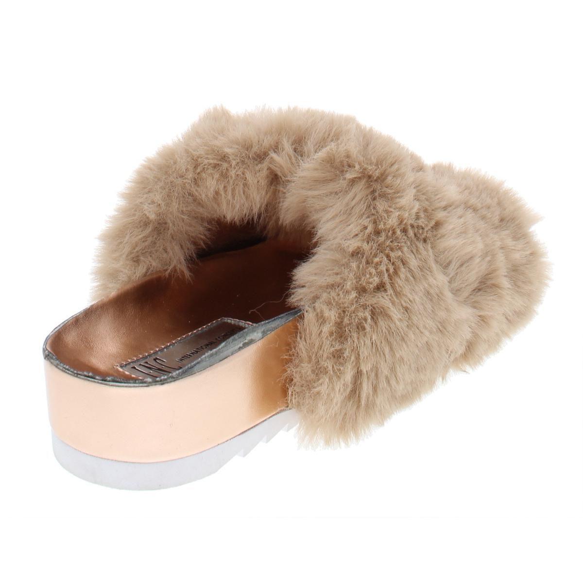 INC-Womens-Alani-Embellished-Metallic-Flat-Sandals-Shoes-BHFO-6405 thumbnail 8